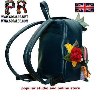 genuine leather backpack 003