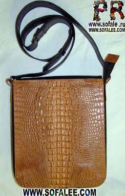 сумка из крокодиловой кожи для мужчин фото 03