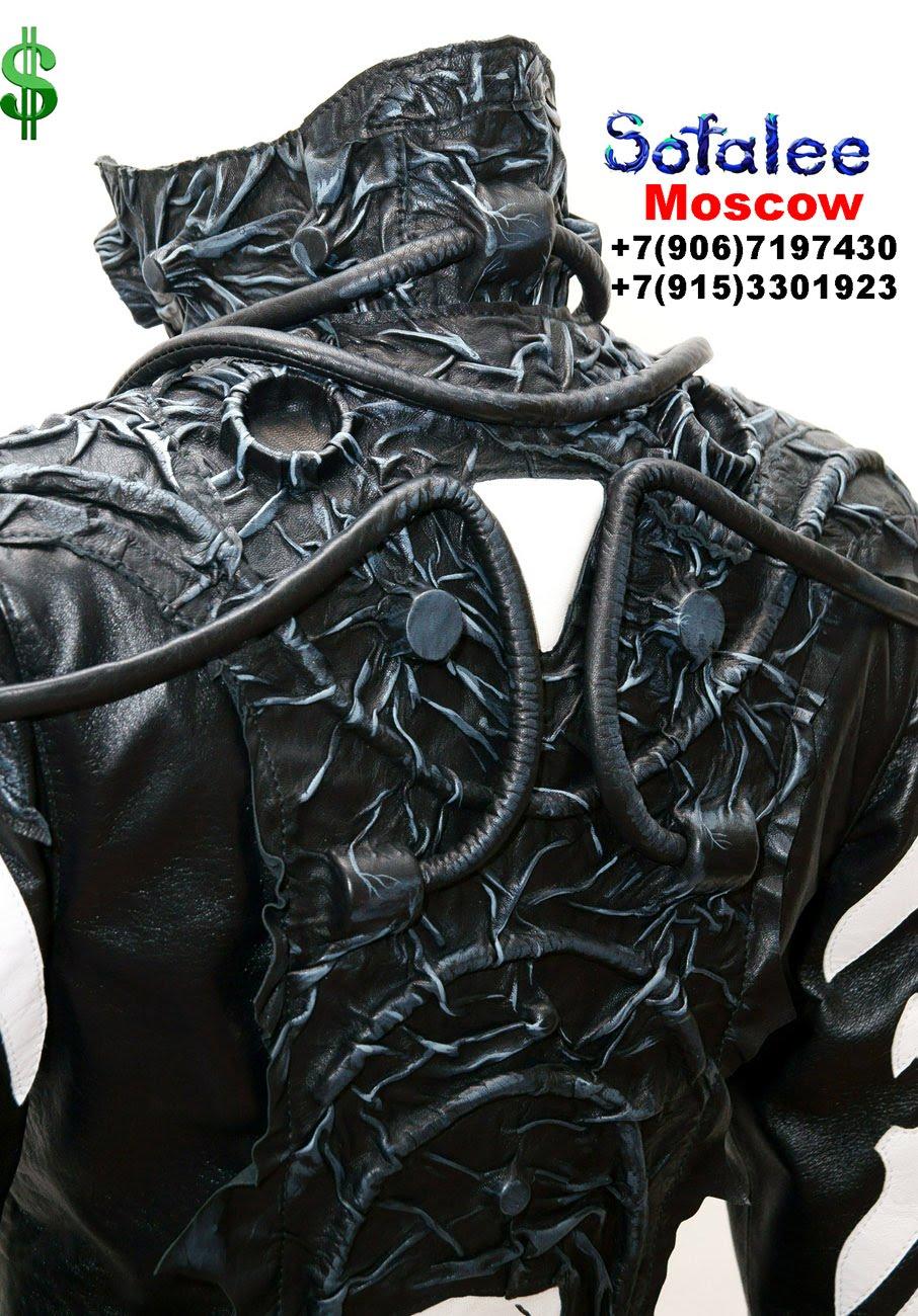 крутая кожаная куртка 00