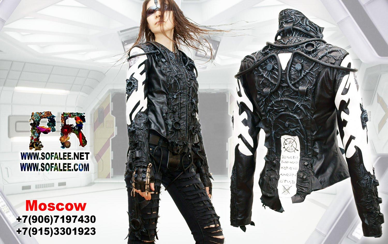 реклама крутая кожаная куртка женская