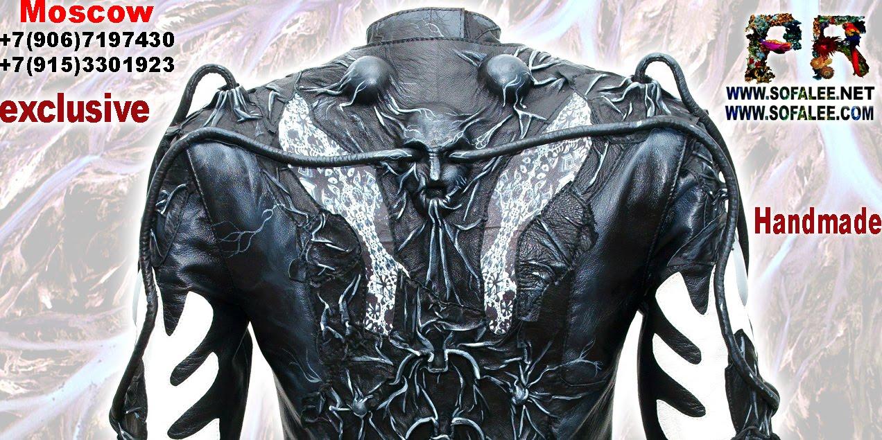куртка из натуральной кожи 006