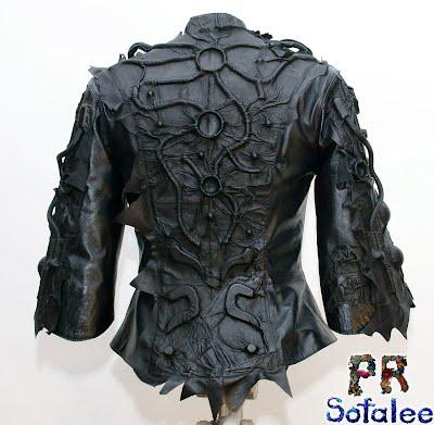 женская кожаная куртка 3