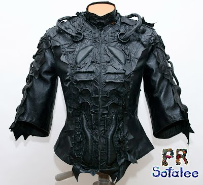 женская кожаная куртка 1