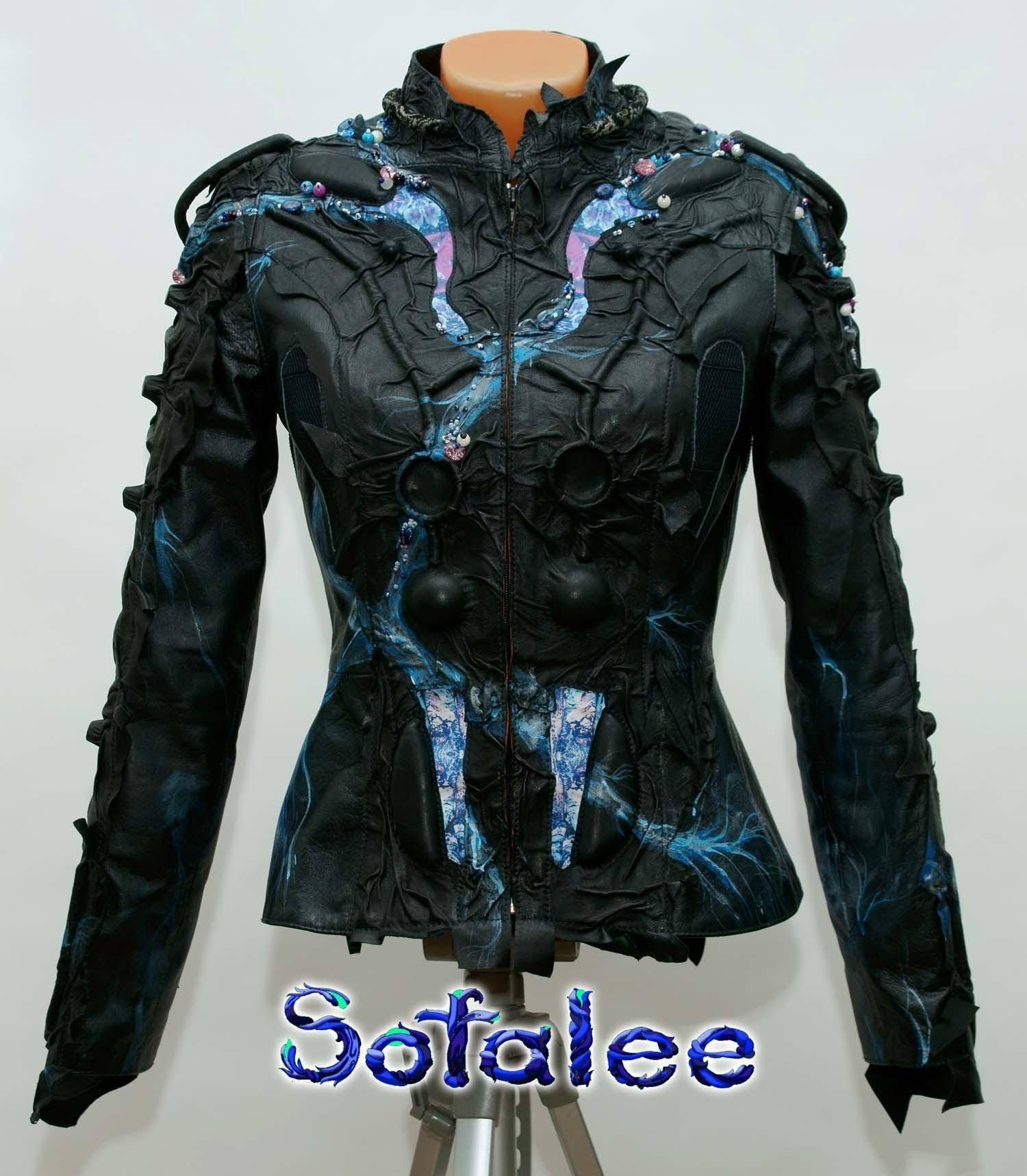 куртка из кожи 1