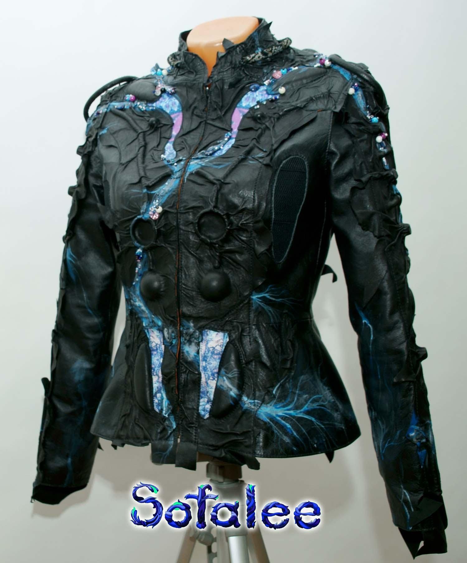 куртка из кожи 4
