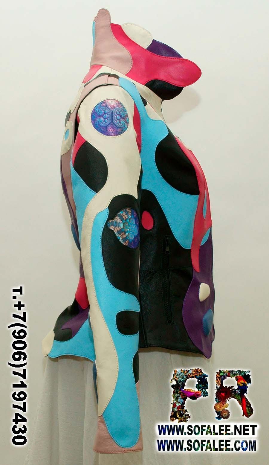 куртки из кожи 001