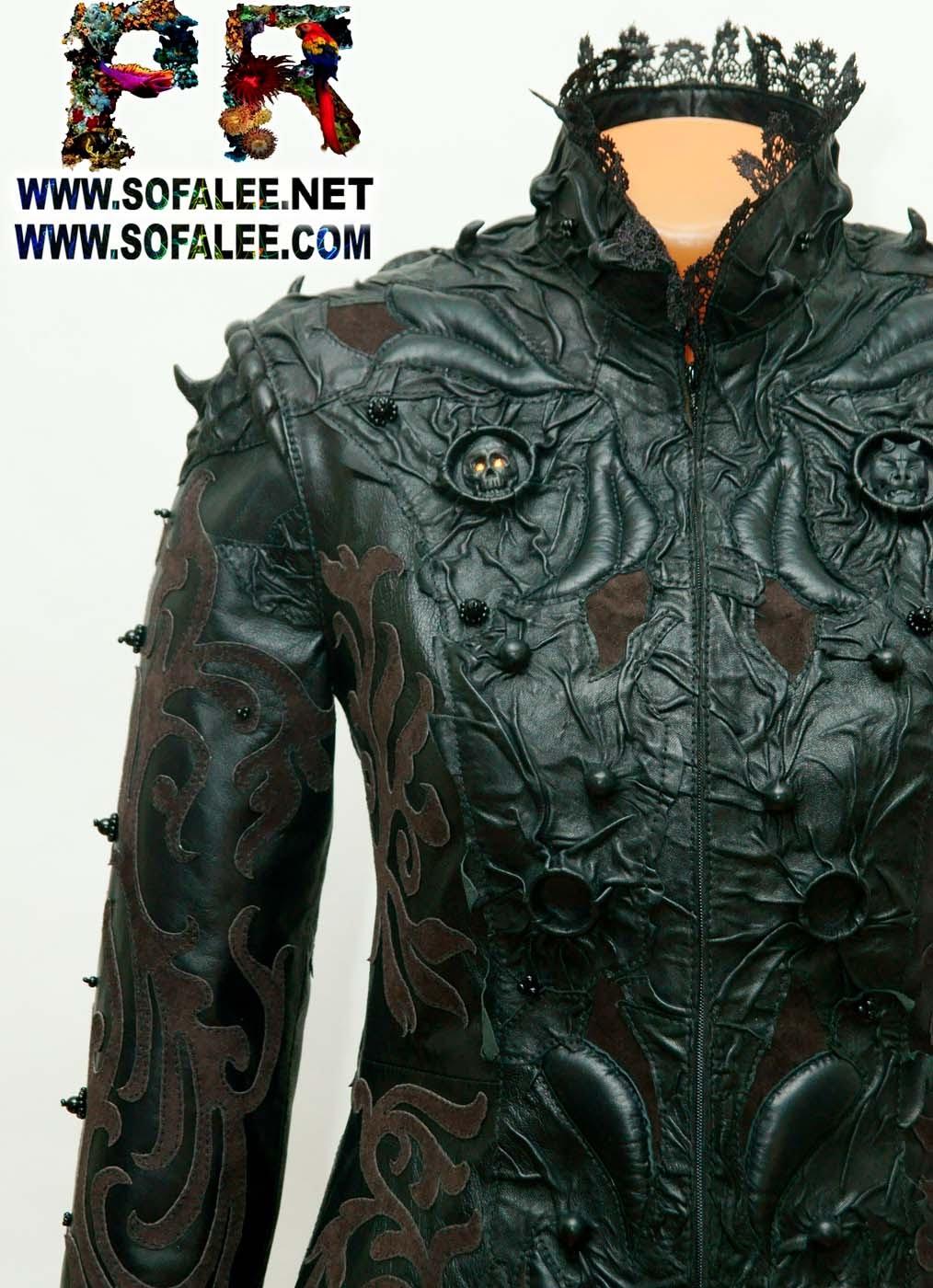 женская кожаная куртка 5