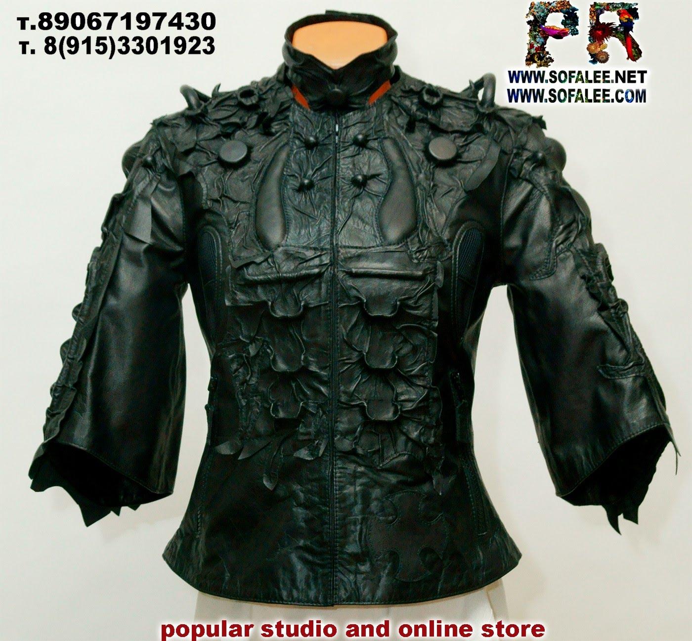 куртка стиль киберпанк женская  00001