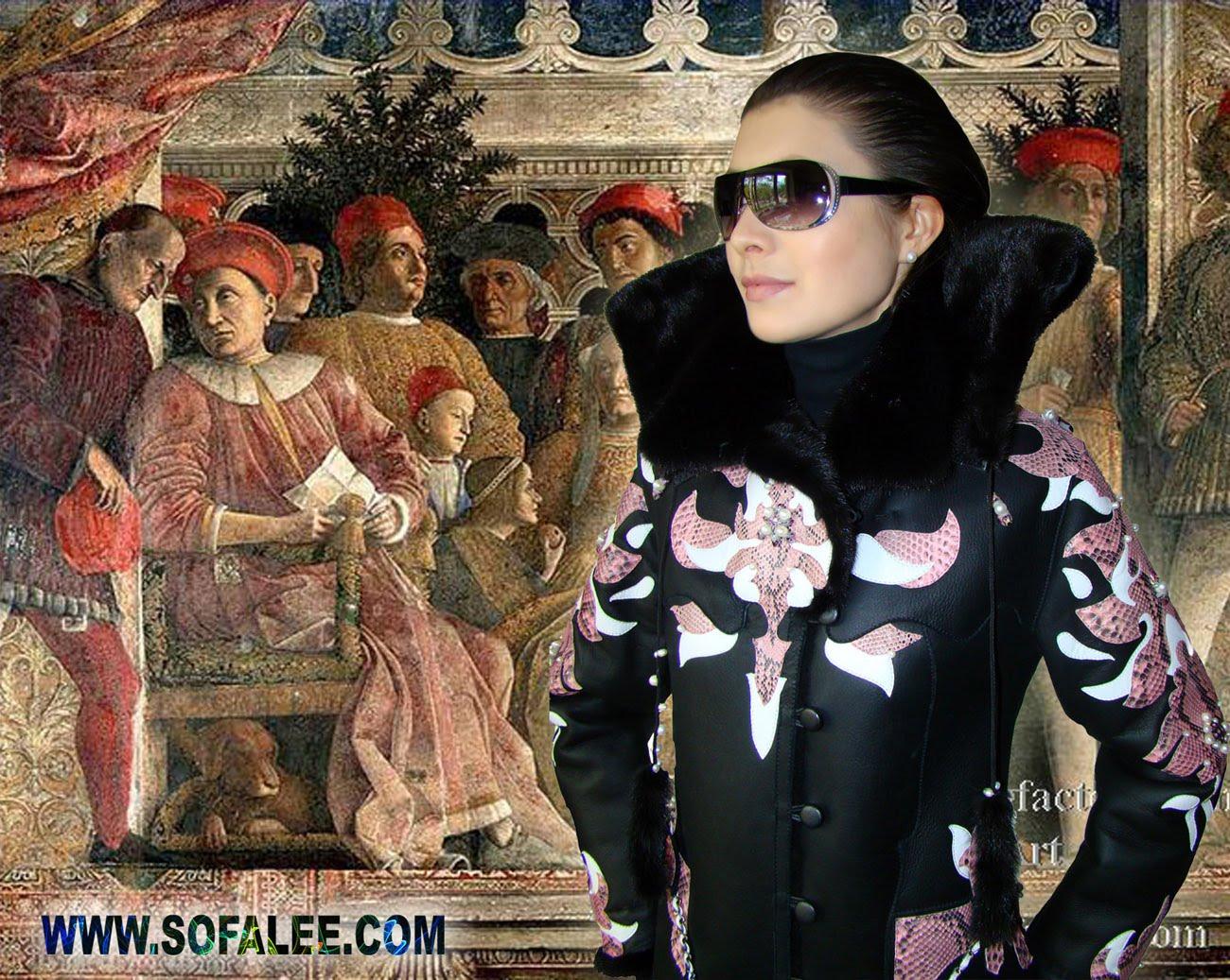 Зимняя одежда от модельера Sofalee