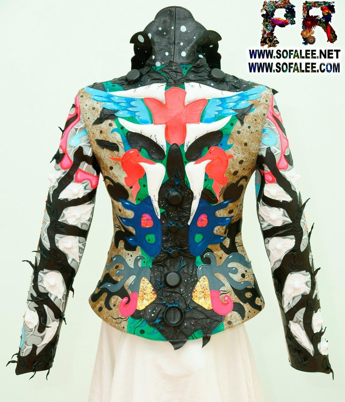 роскошная кожаная куртка женская 000001