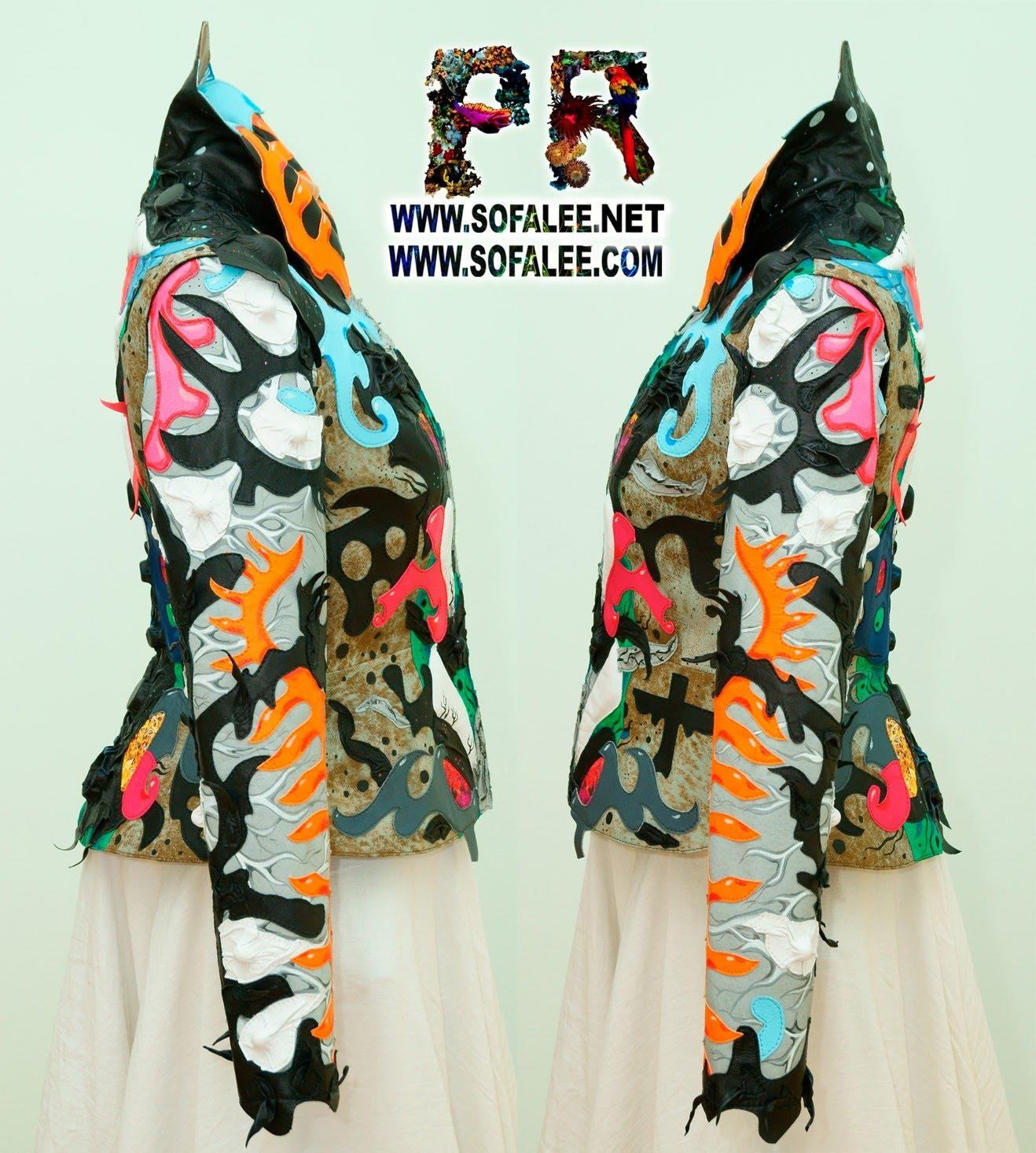 роскошная кожаная куртка женская 000