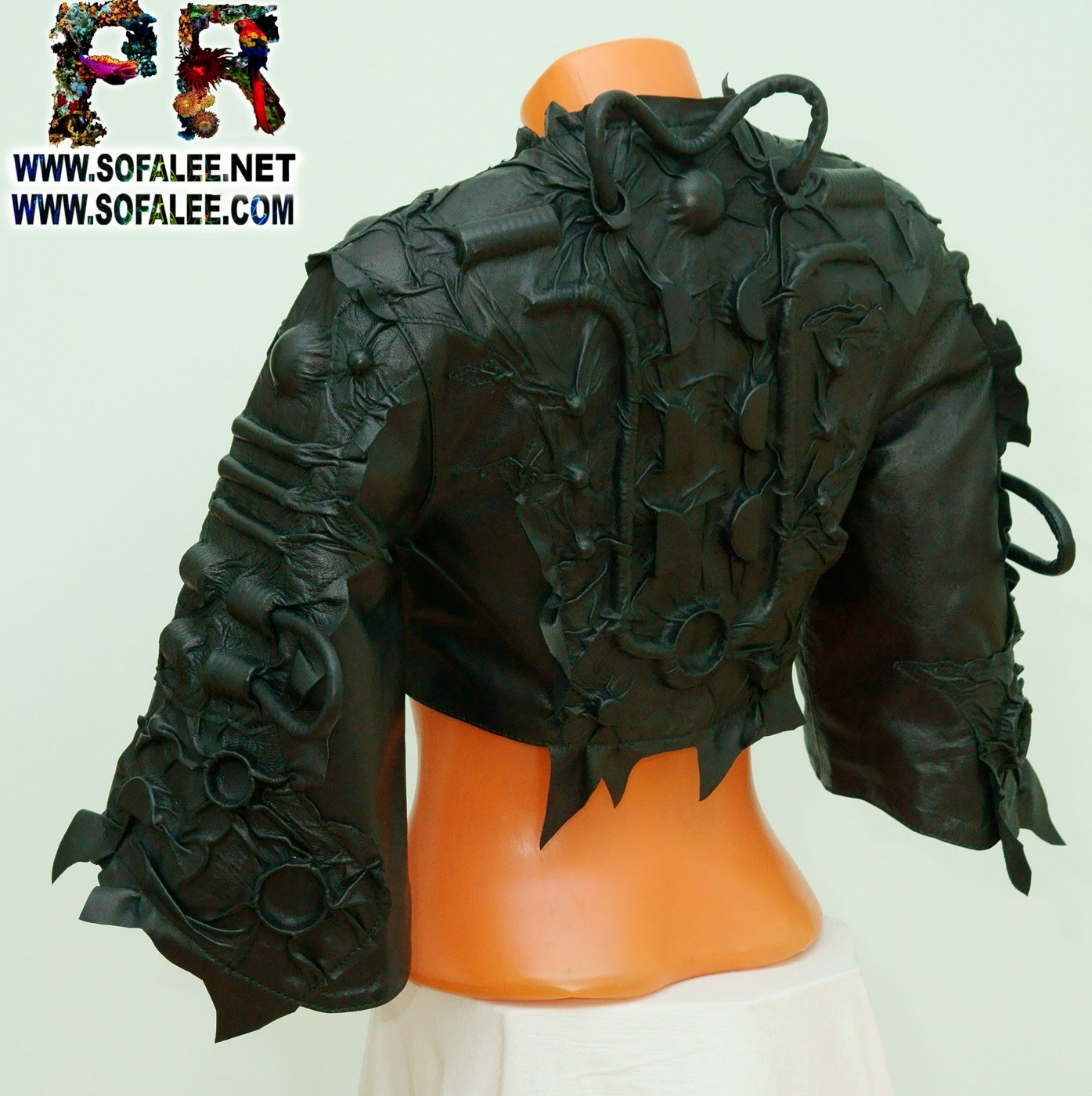 bolero corset genuine leather 0000
