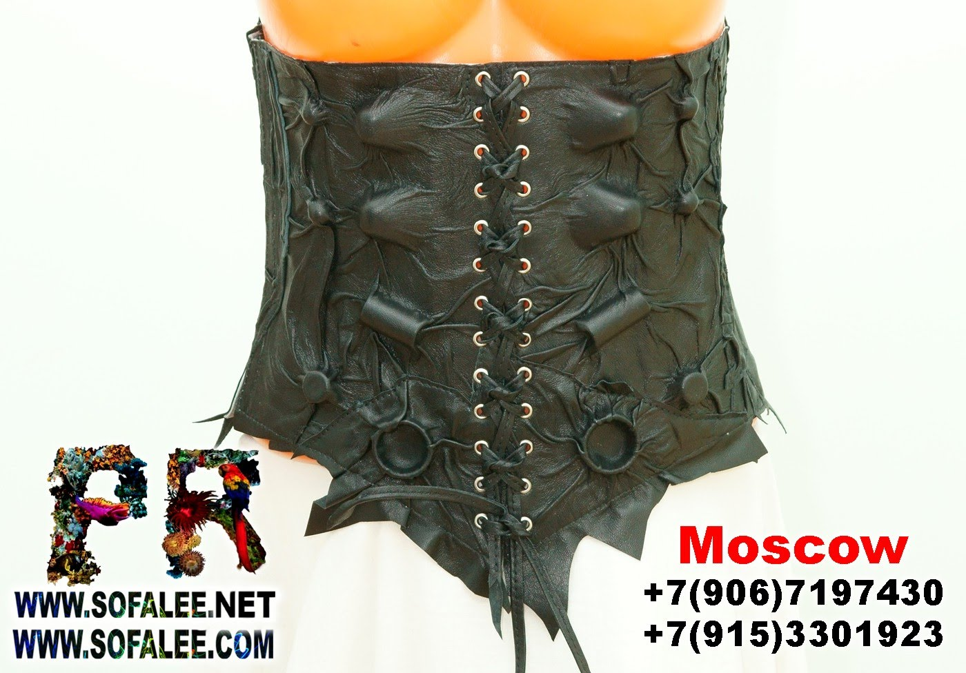 womens corset genuine leather 00