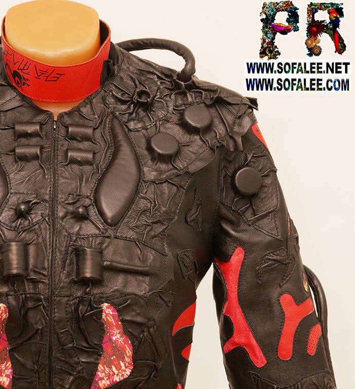 exclusive womens genuine leather jacket 000011