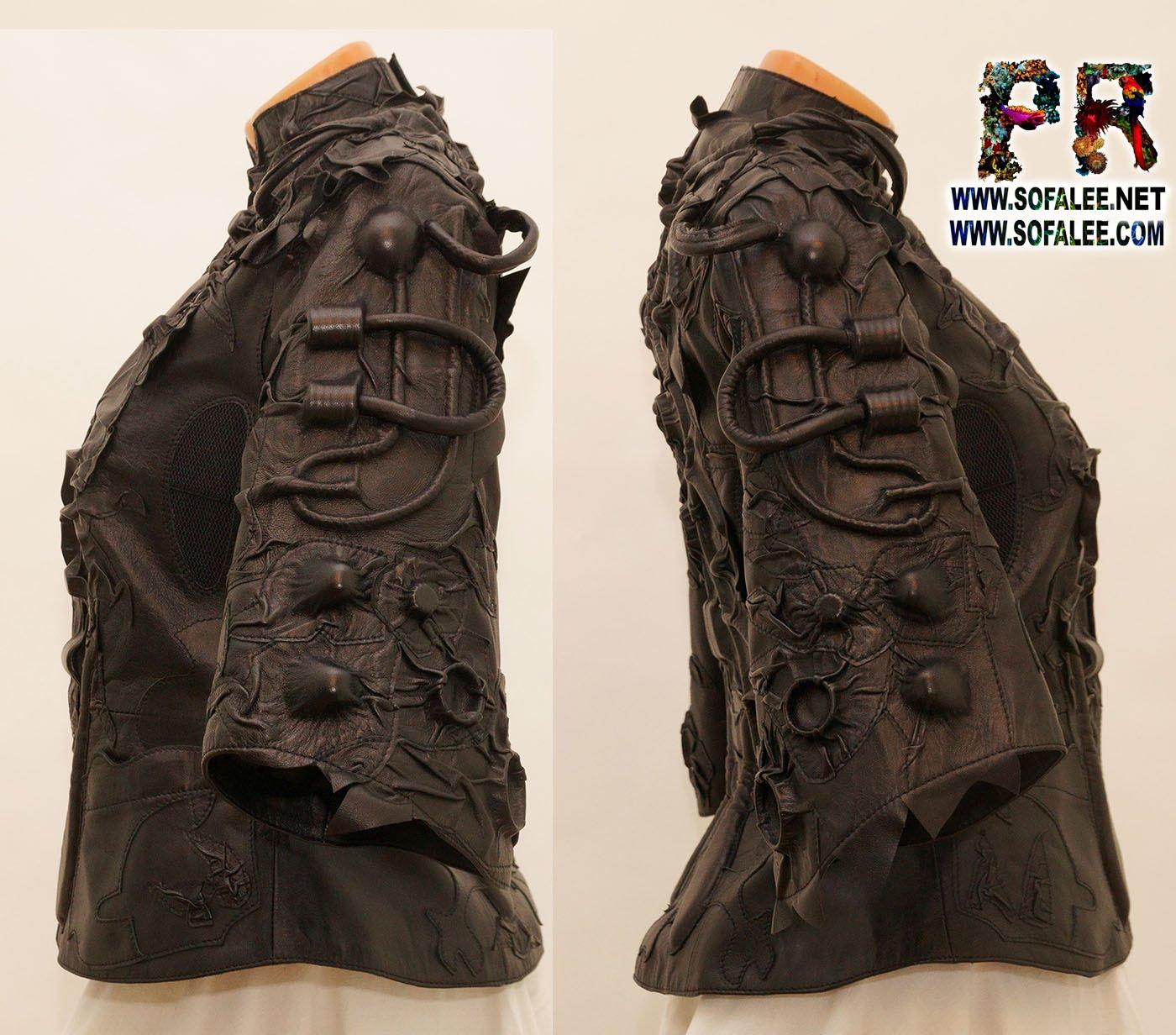 luxury women's jacket cyberpunk style 0001