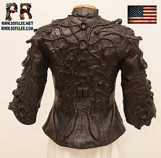 "№226 Black genuine leather jacket ""Mizar-19"" for women"