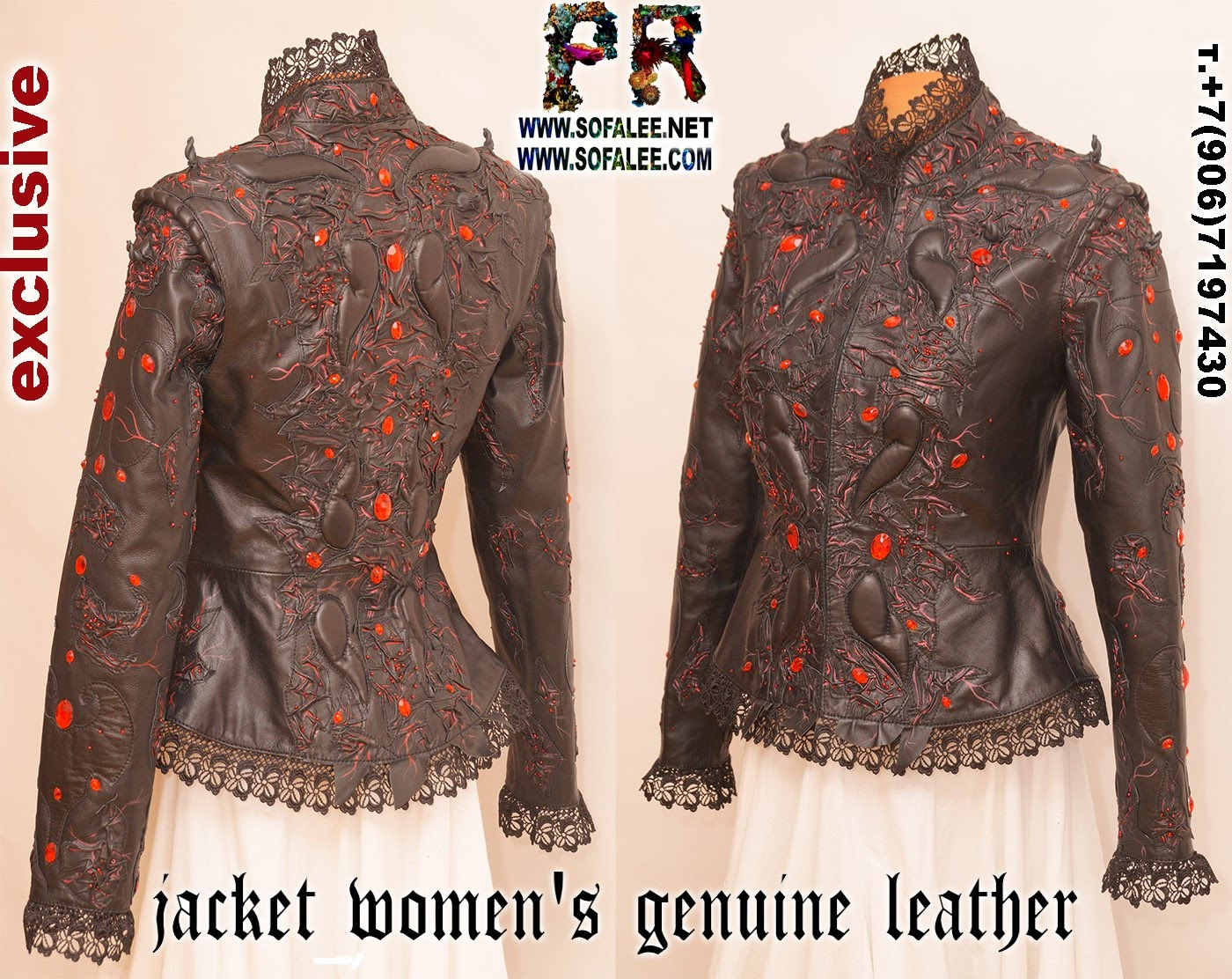 luxury womens leather jacket 01