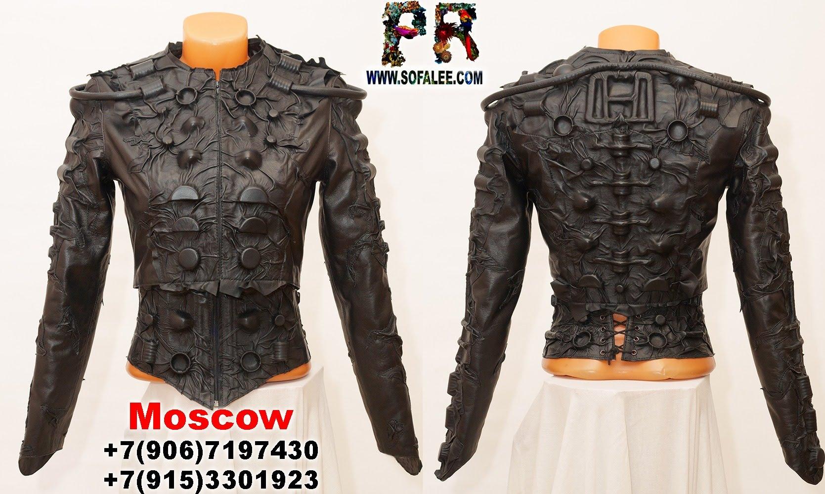 black women's genuine leather bolero corset collar 022