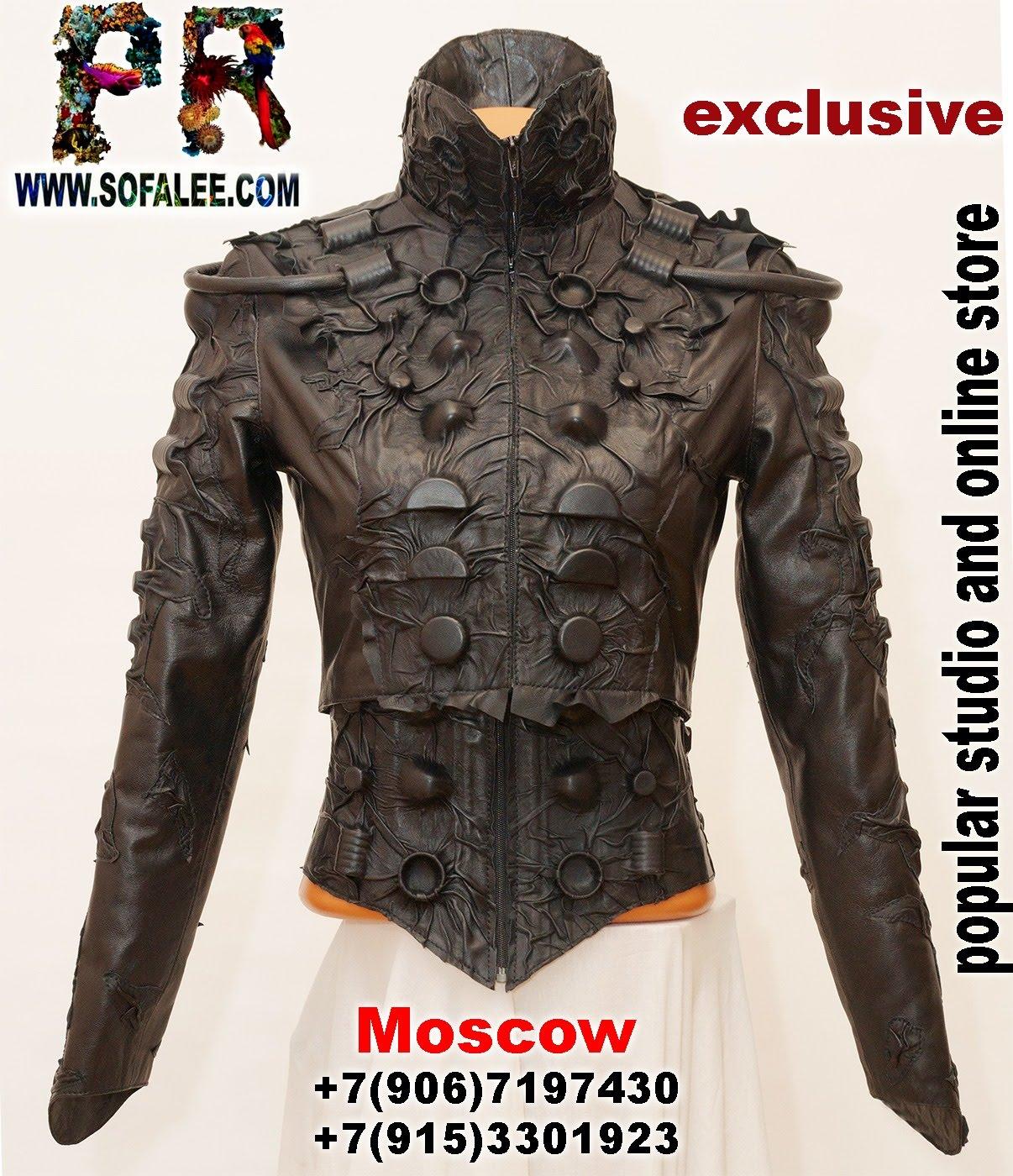 black women's genuine leather bolero corset collar 0001