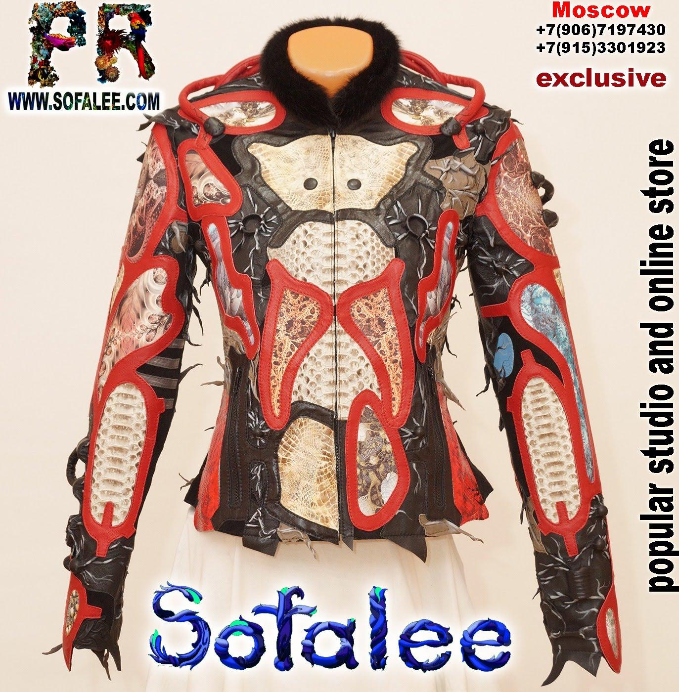 luxury women's crocodile python leather jacket 0001