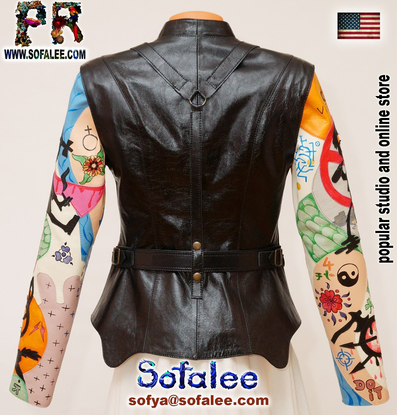 real leather jacket for women 0011