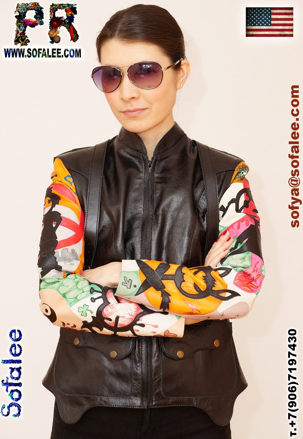 real leather jacket for women 0000