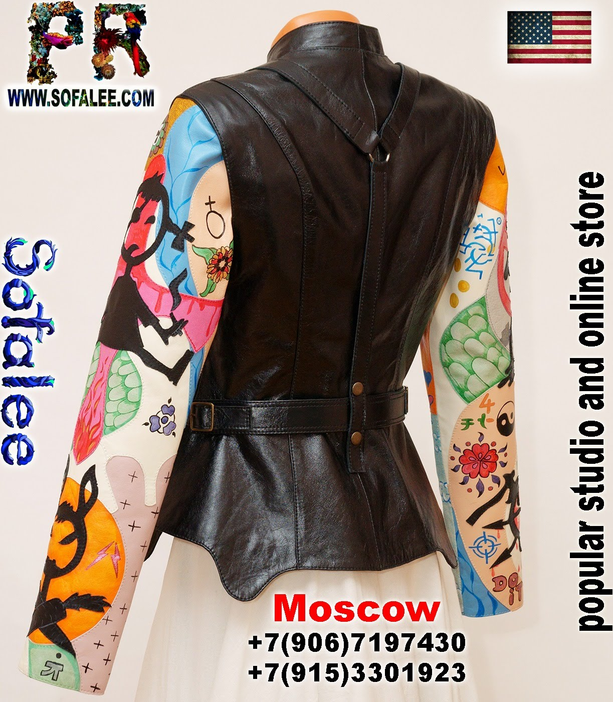 real leather jacket for women 001