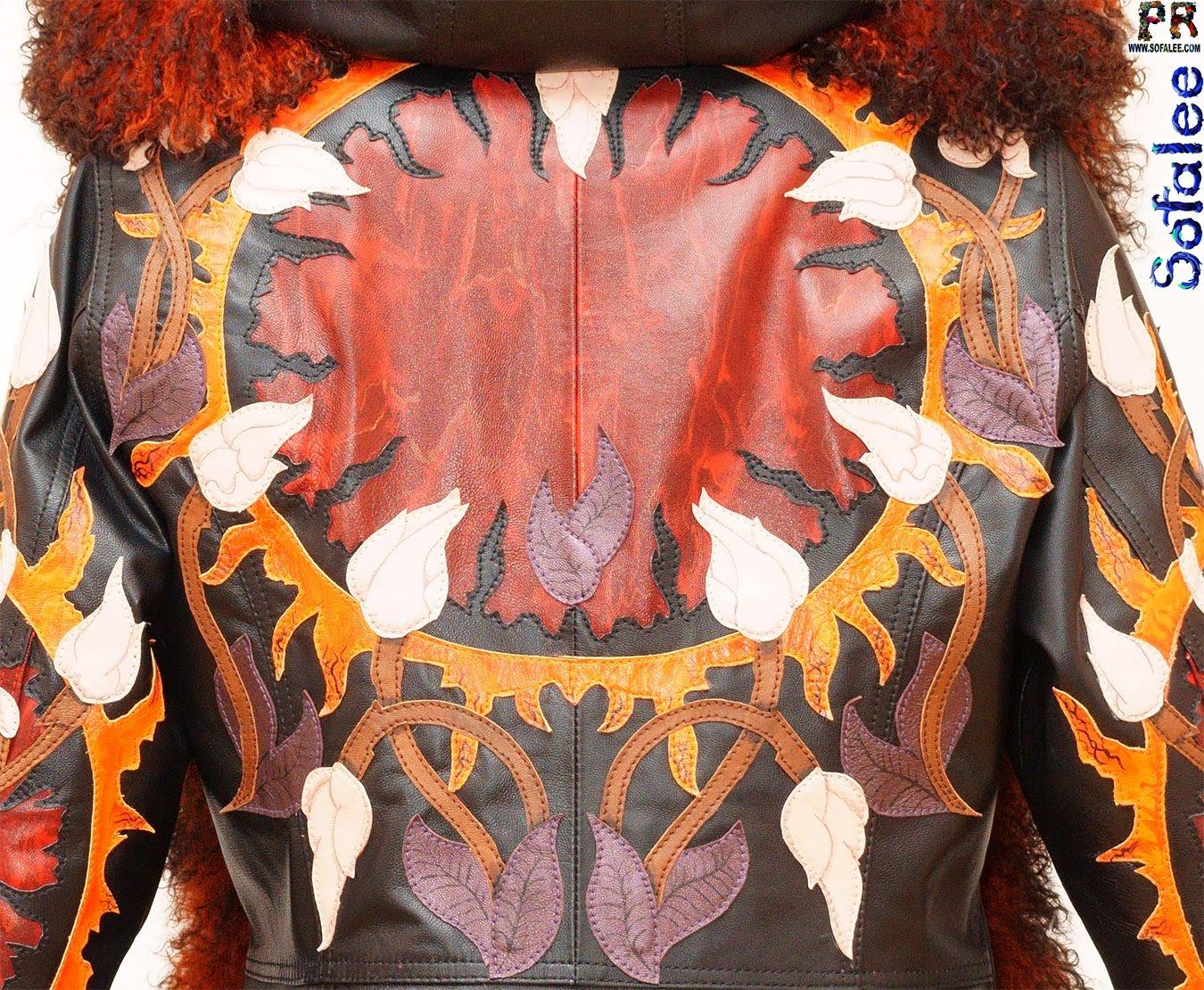 куртка из меха ламы 00