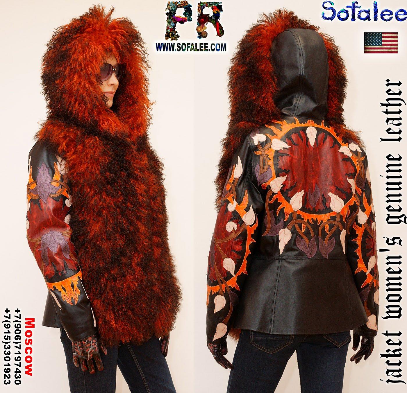куртка из меха ламы 001